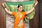 Pooja Misrra in Lavani Attire.JPG