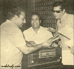 Rafi Sahab with Shankar and Shammi