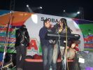 Rahul Mittra on stage at the SJOBA concert.jpg
