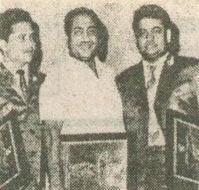 Mohd Rafi with Laxmikant Pyarelal