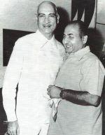 Rafi Sahab with O.P.Nayyar