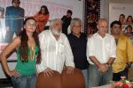 Buddha Mar Gaya Inaugural Party - Rakhi Sawant with other cast and crew- Director Rahul Mittra, Actors Om Puri, Anupam Kher and Producer Rohit.jpg