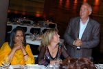 Chairman of the board Paul Atkinson, Leah Atkinson and director Deepa Mehta at the Power Dinner at The 32nd Annual Toronto International Film Festival.jpg
