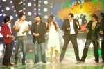 Shaan, John Abraham, Bipasha Basu, Boman Irani, Harshit on Star Voice of India.jpg