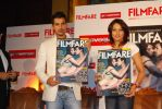 John Abraham, Bipasha Basu at the new filmfare issue launch.jpg