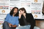Milind Soman, Neil Mukesh at Baqar Naseer presents Spinnathon Championship 2007-2008.jpg