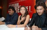 Shrawan Kumar, Sneha Ullal, Kumar Sahil at the Press Conference of _Kaashh... Mere Hote_ (1).JPG