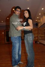 Shilpa Anand, Karan Grover - Global Indian TV honors practice session (30).JPG