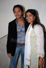 Shreyas Talpade, Sonali Kulkarni at marathi film Valu premiere in Y B Chavan auditorium on Jan 25th 2008 (24).JPG