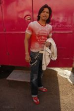 Shaan at Race music launch on the sets of Amul Star Voice Chotte Ustaad in Film City on Feb 4th 2008 (81).jpg