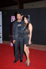 Indraniel n Barka at the Global Indian TV Awards red carpet in Andheri Sports Complex on Feb 1st 2008 (84)~0.jpg