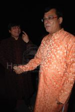 Manoj Joshi and rajeev mehta at Gujarati Film Awards at Andheri Sports Complex on Feb 9th 2008(31).jpg
