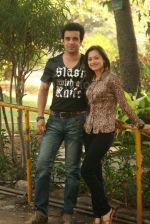 Aamir Ali and Sanjeeda spend their valentine with orphan kids of Muskan orphanage on Feb 13th 2008 (16).jpg
