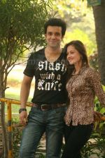 Aamir Ali and Sanjeeda spend their valentine with orphan kids of Muskan orphanage on Feb 13th 2008 (17).jpg
