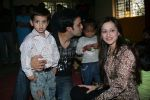 Aamir Ali and Sanjeeda spend their valentine with orphan kids of Muskan orphanage on Feb 13th 2008 (7).jpg