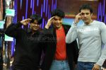 Sajid with friends at Reliance Mobile _Kaho Na Yaar Hai_ on Star Plus on Feb 29th2008.JPG