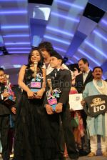 Anamika Chaudhary, Rohanpreet Singh, Tanmay Chaturvedi at the finals of Lil Champs on 1st March 2008 (3).jpg