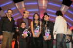 Anamika Chaudhary, Rohanpreet Singh, Tanmay Chaturvedi, Suresh Wadkar, Sonu Nigam at the finals of Lil Champs on 1st March 2008 (78).jpg