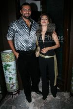 Chetan Hansraj with wife at the Bhram film bash hosted by Nari Hira of Magna in Khar on 2nd March 2008(21).jpg