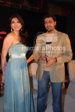 Yukta Mookhey, Priyanshu Chatterjee at Yukta Mookhey_s film Memsahab_s music launch in JW Marriott on March 9th 2008(76).jpg