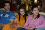 Aamir Ali , Abigail,Krithika Sengal at Kya Dil Mein Hai 9x serial press interviews on March 13th 2008(5).jpg