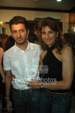 Aneeta Raaj with Son at the launch of WATSON FITNESS in Khar Danda on March 13th 2008(2).jpg