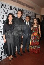 Mrs Manuela Miola, Mr. Miola, Yogesh Radhakrishnan and wife at the opening of Pal Zileri_s first store in Mumbai  in The Hilton Towers on March 14th 2008(62).jpg