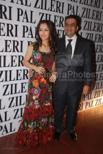 Yogesh Radhakrishnan and wife at the opening of Pal Zileri_s first store in Mumbai  in The Hilton Towers on March 14th 2008(7).jpg