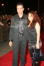 Rohit Roy,Manasi at the Race premiere in IMAX Wadala on March 20th 2008(3).jpg