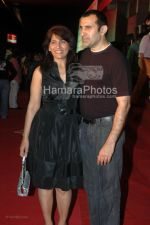 Archana Puran Singh with Parmeet Sethi at One Two Three Premiere in Cinemax on March 26th 2008(1).jpg