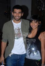 Vj Aditya and Juhi  Pande at Bryan Adams 11 album launch in Pause, Hill Road, Bandra on March 26th 2008(4).jpg