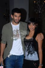Vj Aditya and Juhi  Pande at Bryan Adams 11 album launch in Pause, Hill Road, Bandra on March 26th 2008(5).jpg