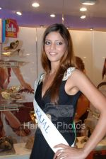 Femina Miss India contestants promote Liberty footwear in Inorbit Mall on March 27th 2008(10).jpg