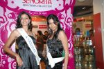 Femina Miss India contestants promote Liberty footwear in Inorbit Mall on March 27th 2008(13).jpg