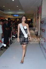 Femina Miss India contestants promote Liberty footwear in Inorbit Mall on March 27th 2008(26).jpg