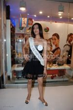 Femina Miss India contestants promote Liberty footwear in Inorbit Mall on March 27th 2008(3).jpg