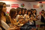 Femina Miss India contestants promote Liberty footwear in Inorbit Mall on March 27th 2008(40).jpg