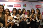 Femina Miss India contestants promote Liberty footwear in Inorbit Mall on March 27th 2008(45).jpg