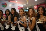 Femina Miss India contestants promote Liberty footwear in Inorbit Mall on March 27th 2008(47).jpg