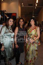 Farzana Contractor with Maheka Mirpuri  at Tina  Ambani_s Harmony show in Nehru Centre on March 28th 2008(2).jpg