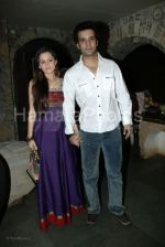 Aamir Ali,Sanjeeda Sheikh at Indraneil Sengupta and Barkha Bisht_s wedding bash in Kino_s cottage on March 30th 2008(1).jpg