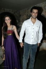 Aamir Ali,Sanjeeda Sheikh at Indraneil Sengupta and Barkha Bisht_s wedding bash in Kino_s cottage on March 30th 2008(3).jpg