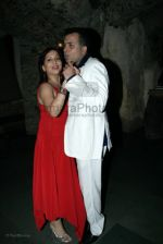 Nitin Bali with wife at Indraneil Sengupta and Barkha Bisht_s wedding bash in Kino_s cottage on March 30th 2008(2).jpg