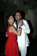 Nitin Bali with wife at Indraneil Sengupta and Barkha Bisht_s wedding bash in Kino_s cottage on March 30th 2008(3).jpg