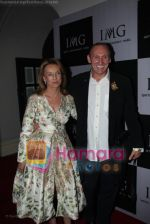 Gregory David Roberts with princess Francoise Sturdza at IMG BASH in Taj President on April 7th 2008 (12).jpg