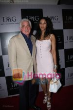 Tred Frtostman with Padma Lakshmi  at IMG BASH in Taj President on April 7th 2008 (2).jpg