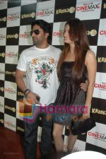 Arshad Warsi, Dia Mirza at Krazzy 4 press meet in Cinemax on April 9th 2008 (5).jpg