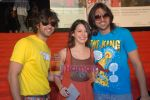 Vatsal Sheth, Isha Sharwani, Karan Khanna at U Me Aur Hum special screening in Cinemax on April 9th 2008 (3).jpg