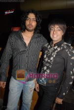 Punnu with Rohit Verma at Budweiser bash in Aurus on April 12th 2008 (43).jpg