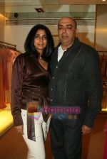 Tina Tahiliani Parikh, Tarun Tahiliani Parikh at the Launch of Ensemble in Bandra on April 15th 2008 (7).JPG
